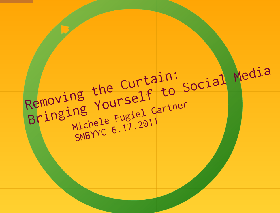 Removing the Curtain: Bringing Yourself to Social Media